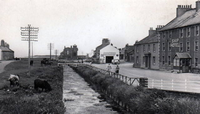 Allonby Main Street