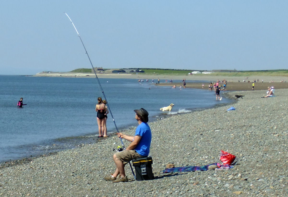 Beach Fishing Allonby