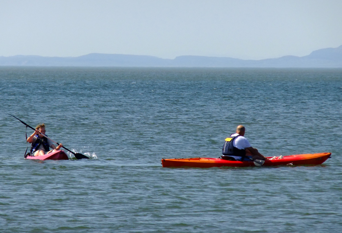 Sea Kayaking Allonby Bay